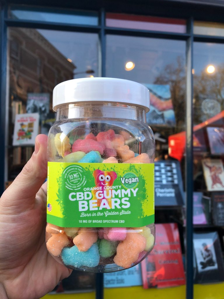 Orange County CBD Large Vegan CBD Gummy Bears