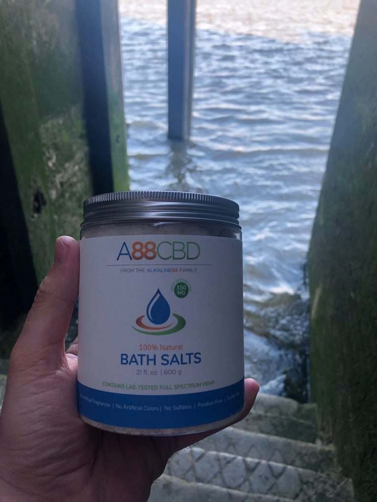 A88CBD CBD-Infused Bath Salts – Fancy taking a dip in the River Thames?